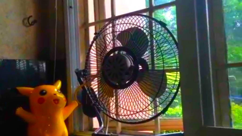 вентилятор  окне: защита от коронавируса