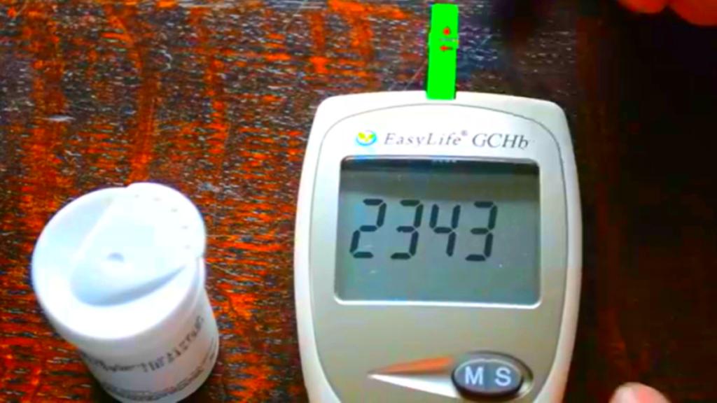 измерение глюкозы при диабете