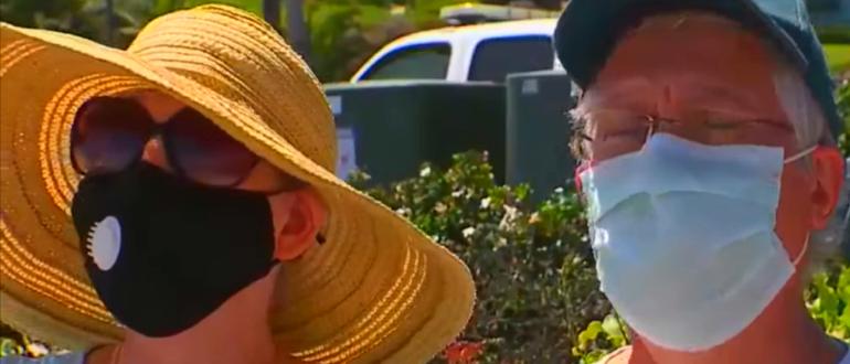 люди в масках от коронавируса