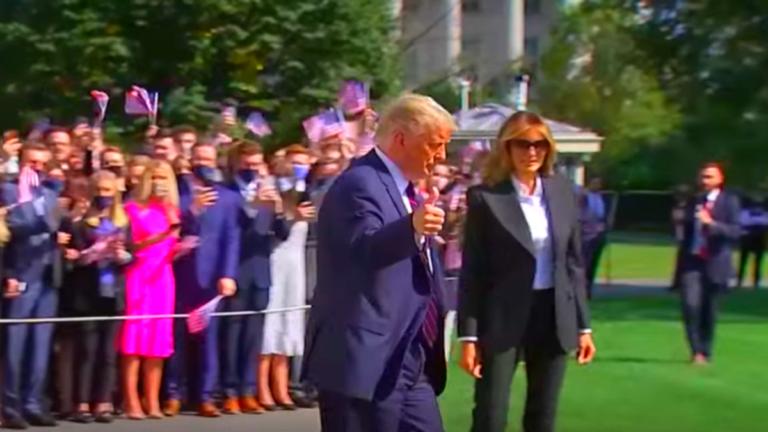 президент США Дональд Трамп и его жена инфицированы COVID-19