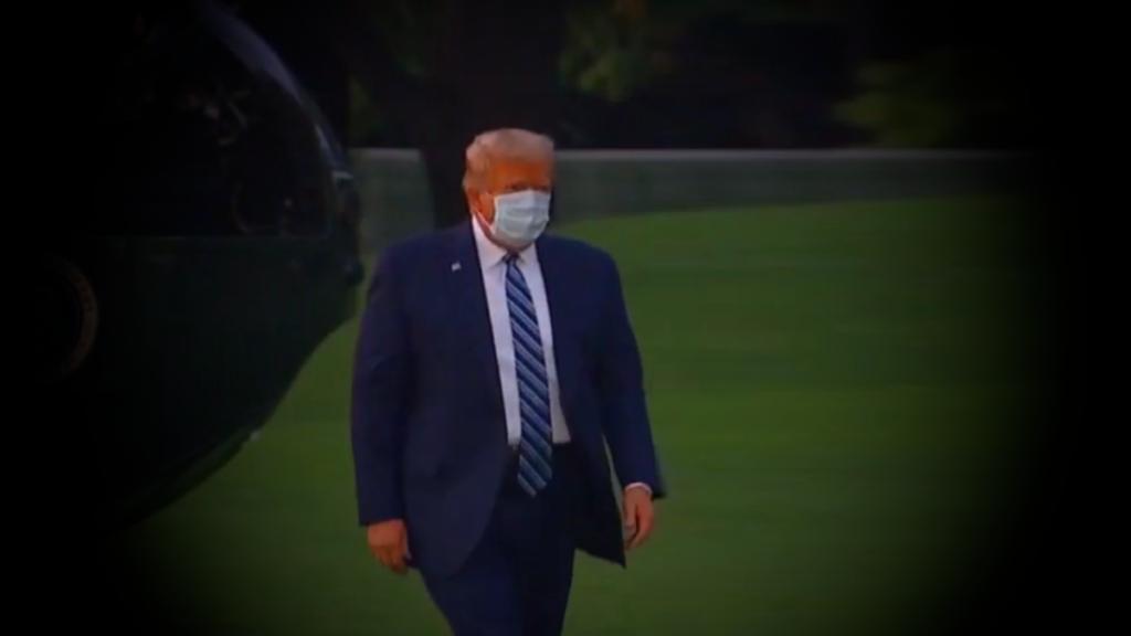 Трамп заявил что не заразен