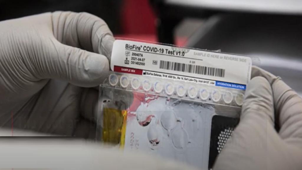 комплект для тестирования коронавируса