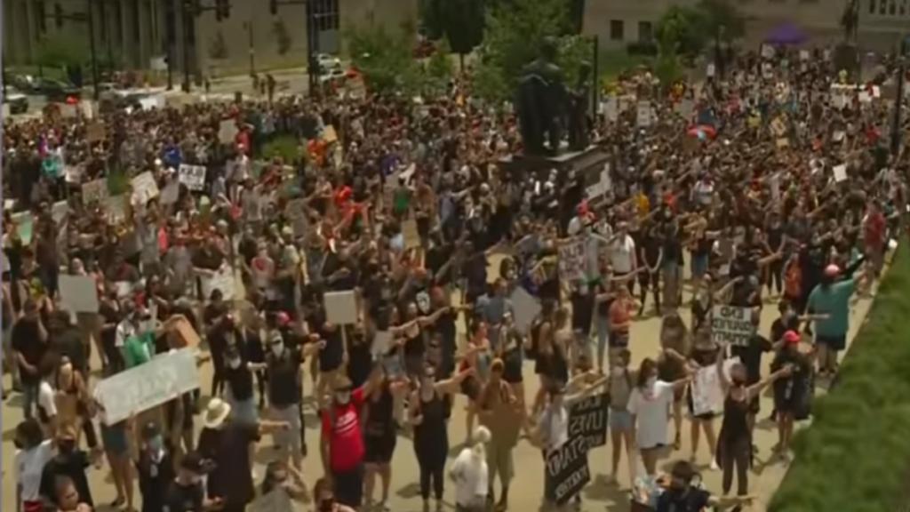 протесты в сша после убийства Джорджа Флойда